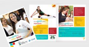 Collège Mont Notre-Dame IDEA brochure