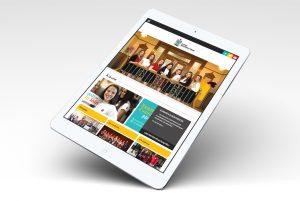 Collège Mont Notre-Dame IDEA site web tablette