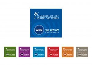 Commission scolaire Marie-Victorin IDEA image de marque