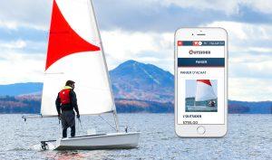 Outsider Sailboat IDEA mobile