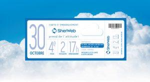 SherWeb IDEA événement carte